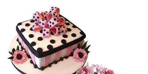 Cake, Food, Cuisine, Dessert, Sweetness, Ingredient, Cake decorating, Baked goods, Pink, Cake decorating supply,