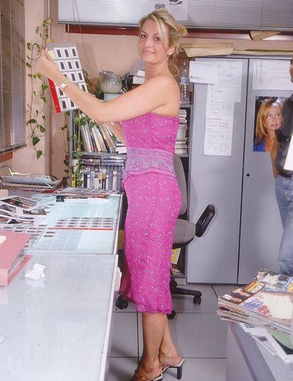 Shoulder, Shoe, Joint, Dress, Pink, Fashion accessory, Waist, Fashion, Purple, One-piece garment,