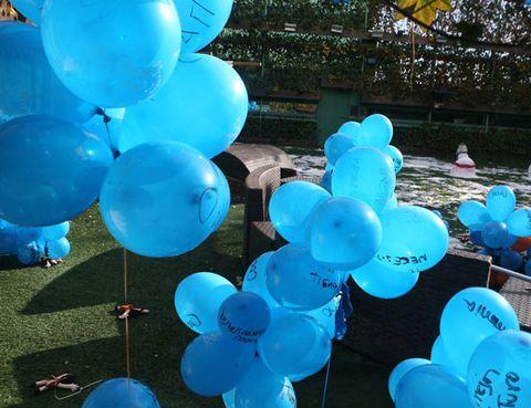 Blue, Party supply, Balloon, Majorelle blue, Aqua, Turquoise, Azure, Electric blue, Party, Cobalt blue,