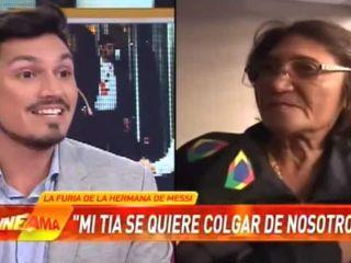 La tía de Messi arremete contra el jugador y su familia