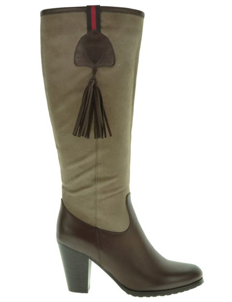 Brown, Boot, Riding boot, Khaki, Tan, Fashion, Costume accessory, Leather, Liver, Maroon,