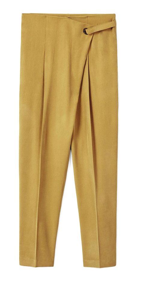 Brown, Yellow, Khaki, Textile, Amber, Suit trousers, Tan, Pocket, Orange, Blazer,