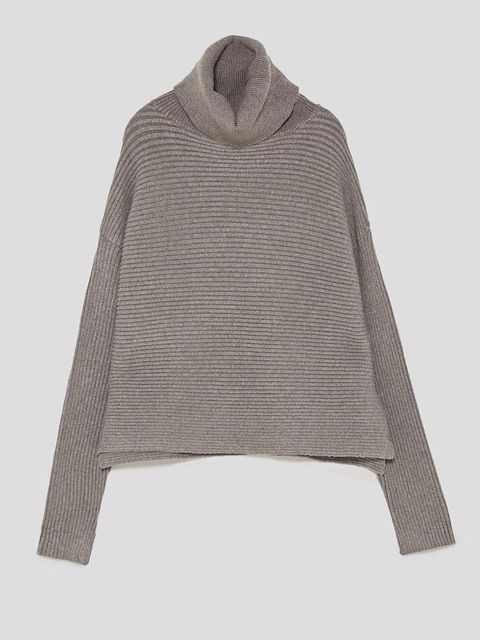 Product, Textile, Outerwear, Sweater, Woolen, Wool, Grey, Beige, Woven fabric, Home accessories,