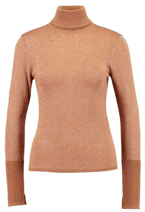 Brown, Product, Yellow, Sleeve, Shoulder, Textile, Joint, Pattern, Orange, Amber,