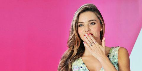 Finger, Lip, Eyebrow, Eyelash, Pink, Magenta, Beauty, Neck, Wrist, Long hair,