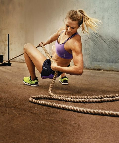Physical fitness, Strength training, Athlete, Exercise, Arm, Rope, Muscle, Leg, Sports, Blond,