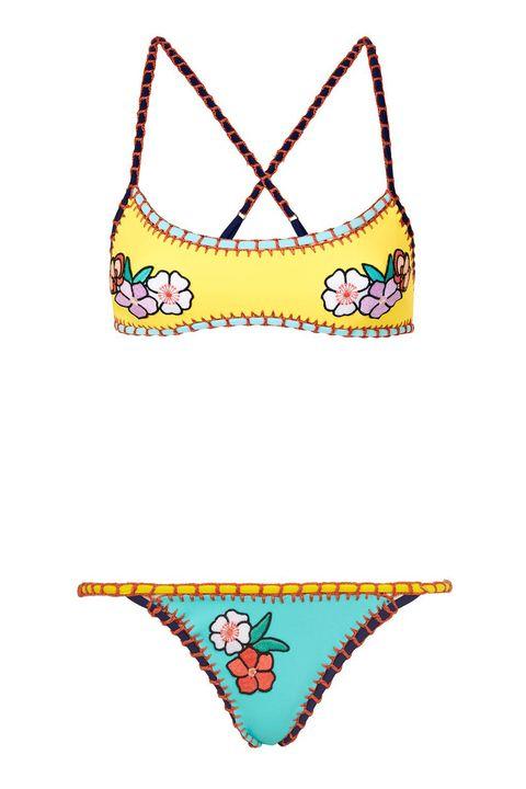 Swimsuit bottom, Bikini, Clothing, Swimsuit top, Swimwear, Lingerie, Undergarment, Briefs, Swim brief, Lingerie top,