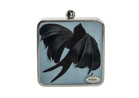 Coin purse, Fashion accessory, Wallet, Pendant, Butterfly, Feather,