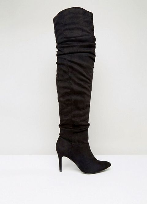 Brown, Shoe, Boot, Leather, Costume accessory, Tan, Beige, Riding boot, Knee-high boot, Fashion design,