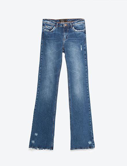 Blue, Brown, Denim, Jeans, Textile, Pocket, White, Style, Electric blue, Fashion,