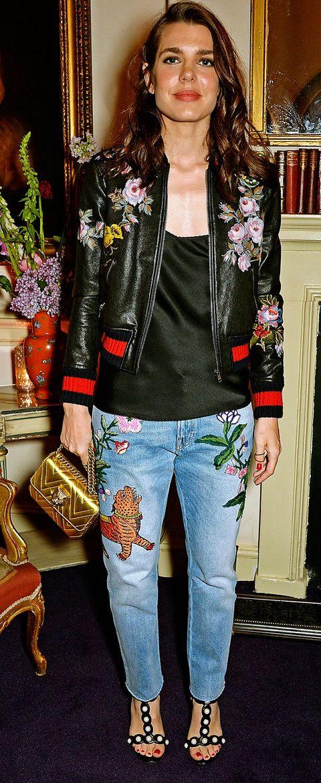 Clothing, Jeans, Jacket, Outerwear, Blazer, Denim, Fashion, Street fashion, Leather, Leather jacket,
