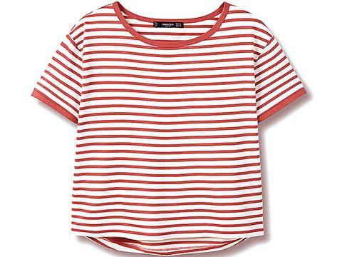 Product, Sleeve, Red, White, Line, Orange, Pattern, Carmine, Neck, Aqua,