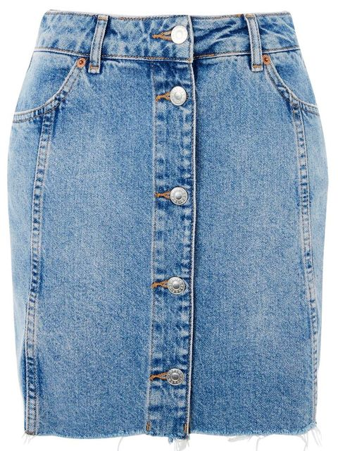 Denim, Clothing, Jeans, Blue, Pocket, Fashion, Pencil skirt, Textile, Shorts, Button,