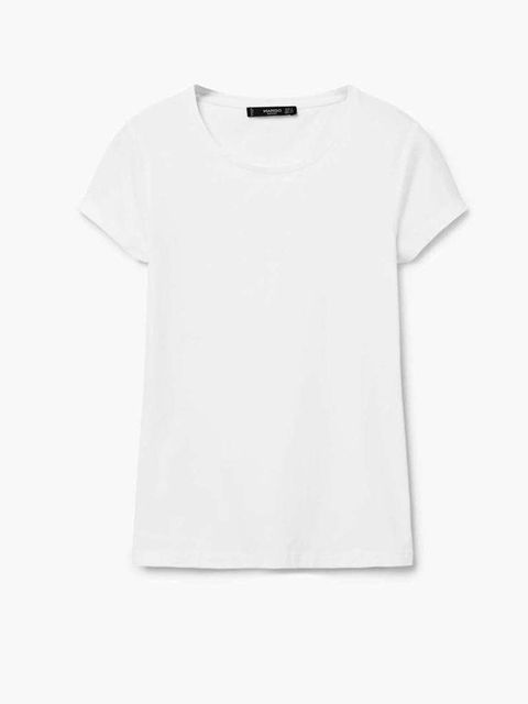 Clothing, T-shirt, White, Sleeve, Top, Neck, Blouse,