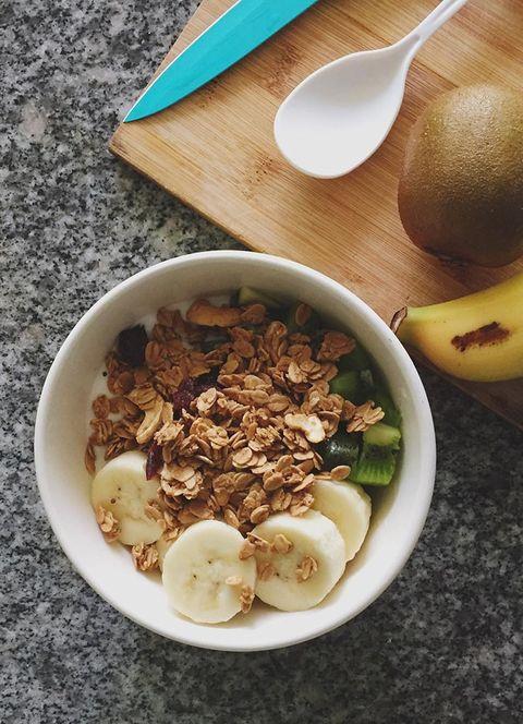 Food, Ingredient, Cuisine, Tableware, Serveware, Dishware, Breakfast cereal, Kitchen utensil, Breakfast, Cutlery,