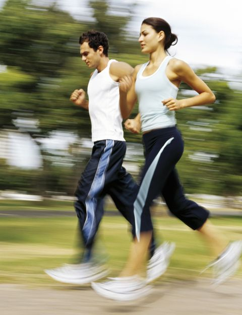 Shoe, Active pants, Sleeveless shirt, Knee, Exercise, Running, sweatpant, Athletic shoe, Muscle, Sneakers,