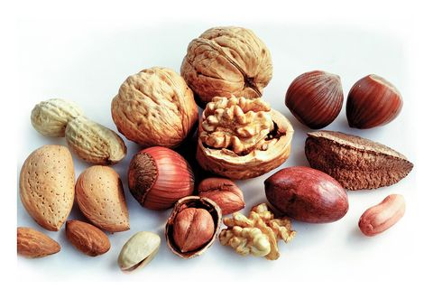 Nut, Food, Mixed nuts, Walnut, Nuts & seeds, Dried fruit, Ingredient, Apricot kernel, Almond, Superfood,