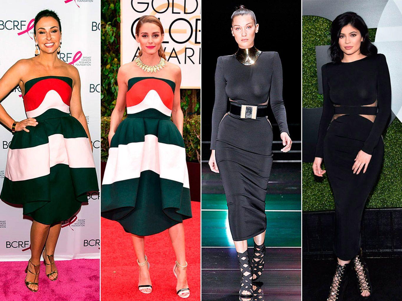 Mujeres con el mismo vestido