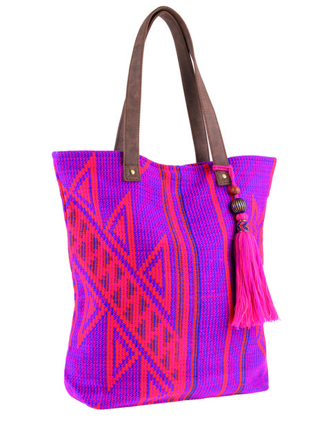 Product, Bag, Textile, Red, Style, Fashion accessory, Luggage and bags, Pattern, Shoulder bag, Purple,