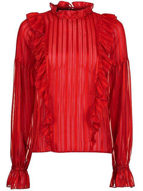 Sleeve, Red, Collar, Textile, Jacket, Carmine, Fashion, Maroon, Orange, Magenta,