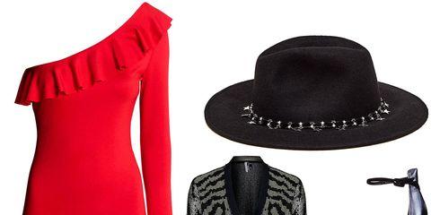 Hat, Textile, Collar, Outerwear, Coat, Style, Costume accessory, Headgear, Fashion, Black,