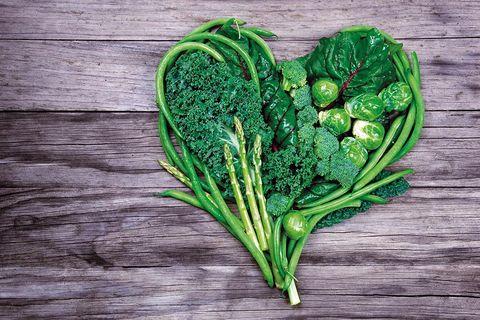 Vegetable, Leaf vegetable, Plant, Leaf, Superfood, Heart, Cruciferous vegetables, Flower, Kale, Tatsoi,