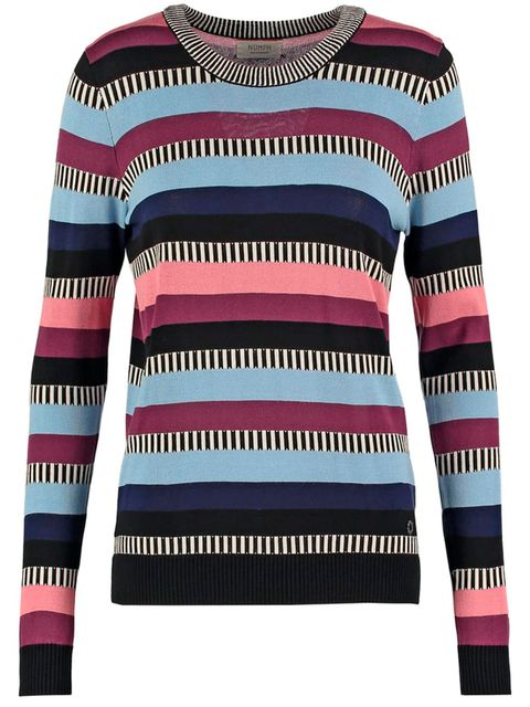 Product, Sweater, Sleeve, Textile, Pattern, Magenta, Purple, Fashion, Long-sleeved t-shirt, Neck,