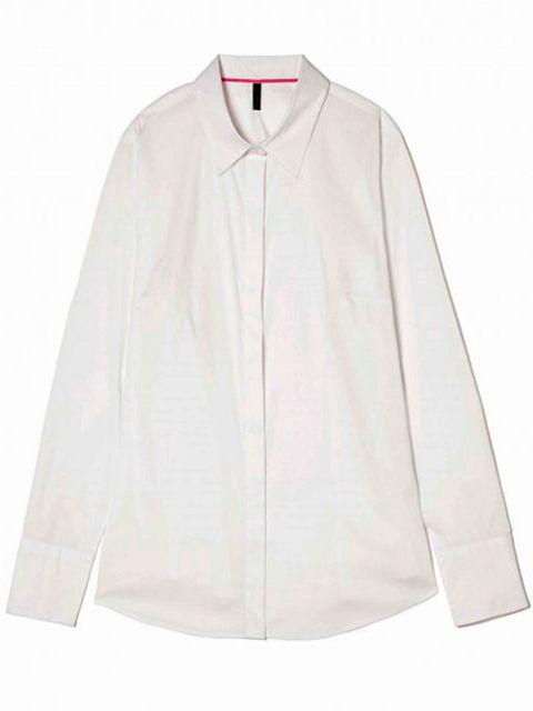 Product, Collar, Sleeve, Textile, White, Fashion, Costume, Clothes hanger, Sweatshirt, Active shirt,