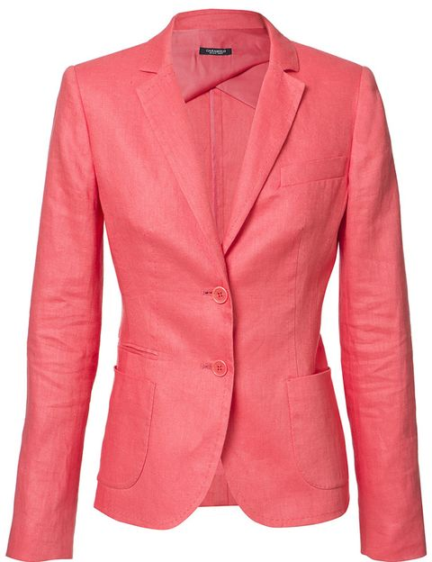 Clothing, Product, Coat, Collar, Sleeve, Textile, Red, Outerwear, White, Orange,