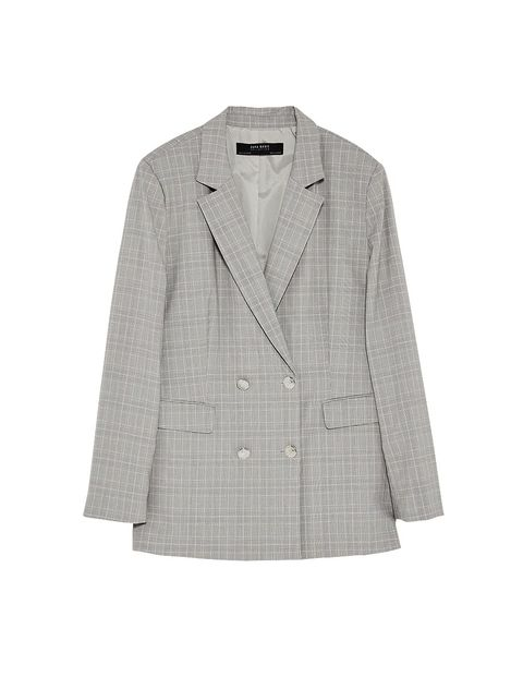Clothing, Outerwear, White, Blazer, Jacket, Sleeve, Beige, Top, Coat, Suit,