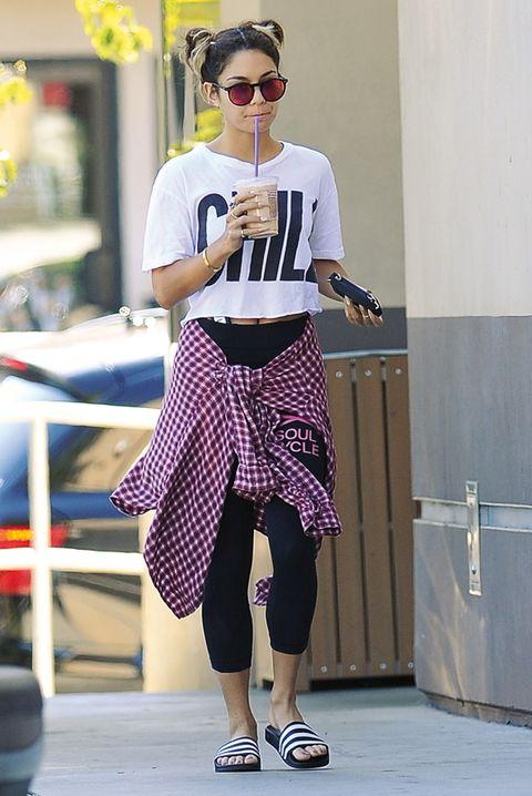 Goggles, Sunglasses, Style, Street fashion, Fashion accessory, Fashion, Knee, Magenta, Lavender, Bag,