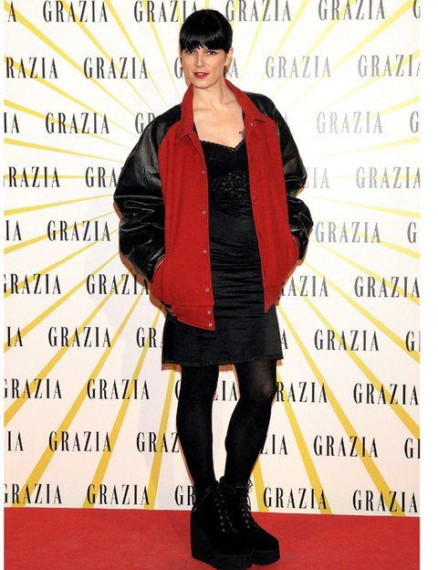 Sleeve, Jacket, Style, Street fashion, Carpet, Fashion model, Costume, Leather, Fashion design, Leather jacket,