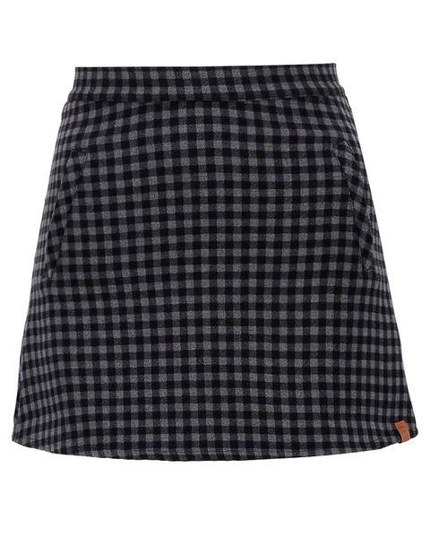 Clothing, Black, Plaid, Pattern, Tartan, A-line, Fashion, Design, Skort, Textile,