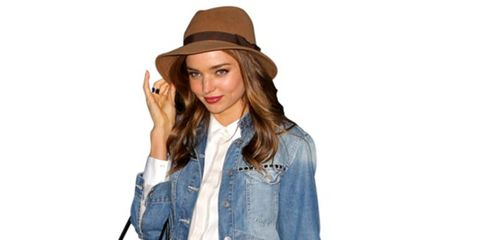 Clothing, Brown, Sleeve, Collar, Shoulder, Textile, Hat, Outerwear, Style, Fashion accessory,