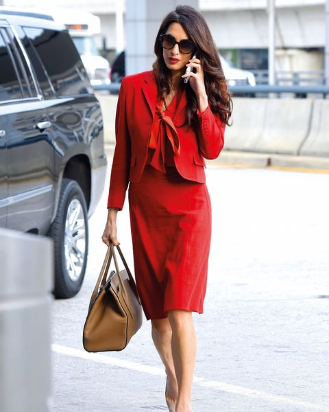 Clothing, Red, Street fashion, Orange, Shoulder, Fashion, Sleeve, Waist, Dress, Outerwear,