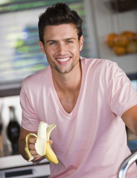 Facial hair, Tooth, Muscle, Beard, Chest, Laugh, Moustache, Pleased, Active shirt, Snack,
