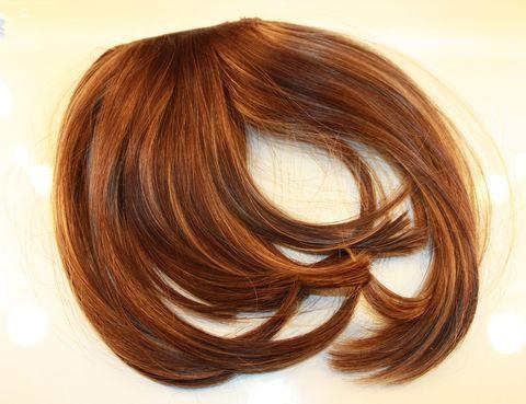 Brown, Hairstyle, Style, Amber, Orange, Brown hair, Tan, Liver, Maroon, Blond,