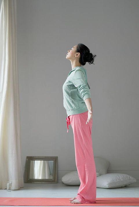 Shoulder, White, Pink, Clothing, Standing, Leg, Joint, Pajamas, Arm, Waist,
