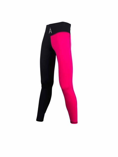 Magenta, Tights, Active pants, Costume accessory, Waist, Fashion design, Leggings, Velvet, Knee-high boot,