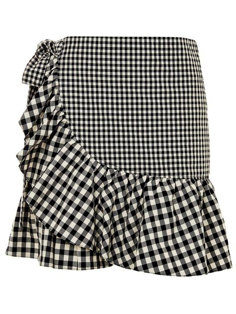 Product, Pattern, Textile, White, Style, Black, Plaid, Black-and-white, Costume accessory, Monochrome photography,