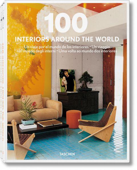 Room, Living room, Furniture, Interior design, Orange, Poster, Brochure, Design, Graphic design, Flyer,