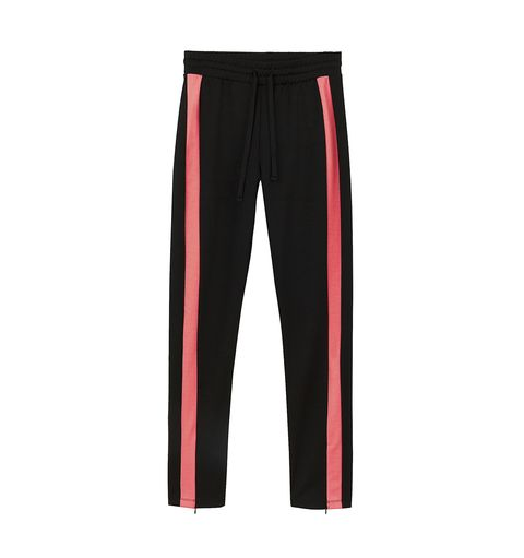 Clothing, Sportswear, Red, Active pants, sweatpant, Trousers, Tights, yoga pant,