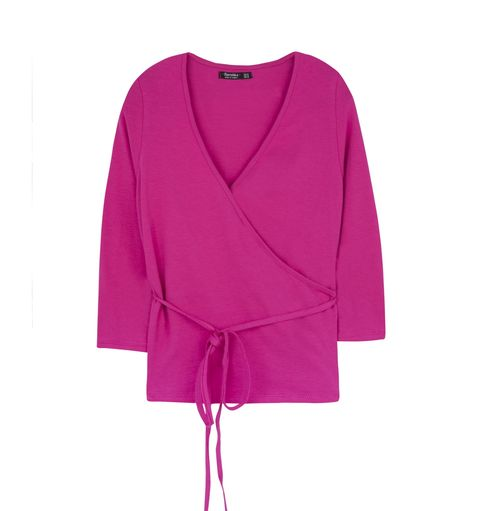 Product, Sleeve, Textile, Magenta, Outerwear, Red, Collar, Pink, Purple, Violet,