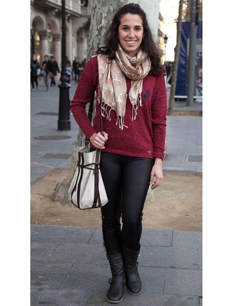 Clothing, Textile, Outerwear, Boot, Style, Fashion accessory, Street fashion, Bag, Fashion, Jewellery,