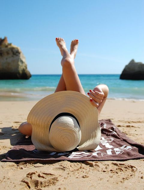 Vacation, Summer, Beach, Hand, Sand, Sea, Sitting, Tourism, Leg, Leisure,