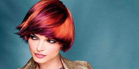 Hair, Hairstyle, Face, Hair coloring, Beauty, Bangs, Layered hair, Brown hair, Red hair, Long hair,