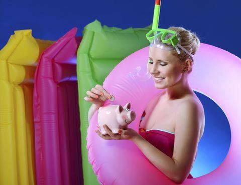 Pink, Carnivore, Costume accessory, Magenta, Hair accessory, Toy, Earrings, Costume, Costume hat, Toy dog,