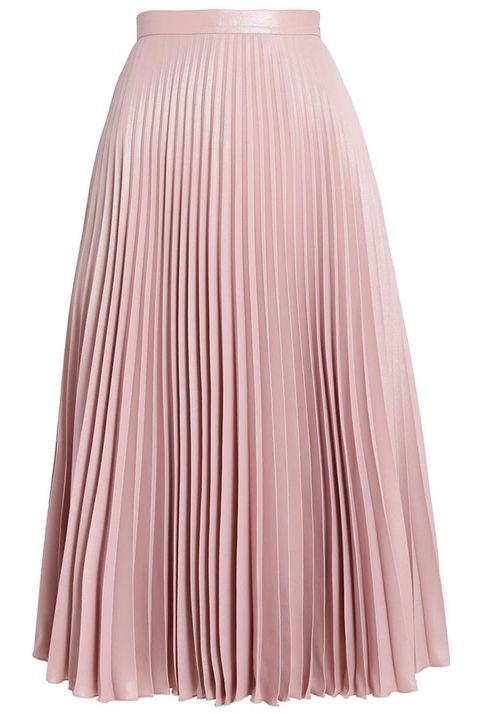 Clothing, Pink, Fashion, A-line, Waist, Dress, Beige,