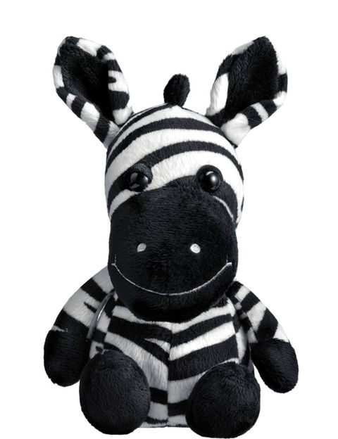 Toy, Baby toys, Snout, Terrestrial animal, Stuffed toy, Black-and-white, Monochrome photography, Animal figure, Plush, Livestock,