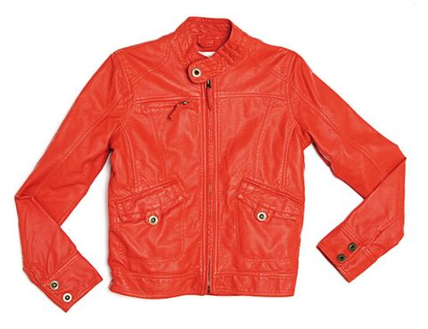 Clothing, Product, Jacket, Collar, Sleeve, Red, Textile, Outerwear, White, Coat,